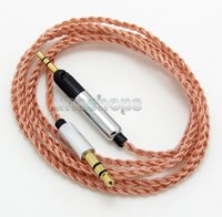 Wholesale Sennheiser Earphone Headphone - 120cm 5N OCC Cable For Sennheiser HD598 HD558 HD518 Headphone Headset Earphone