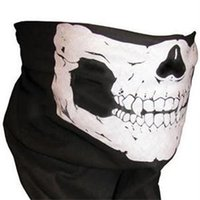 Wholesale Cooling Bandanas - 2015 New Novelty Outdoor Ride Bandanas Scarves  Fashion Sport Cool Skull Wicking Seamless Washouts Scarf