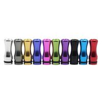 ingrosso consigli di alluminio-Newst 510 510 Drip Tip EGO Atomizzatore Boccaglio Drip Tips per 510 Discussioni Cartomizers Atomizzatori Multicolor