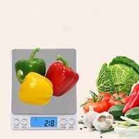 Wholesale Free Diet Foods - Free Shipping 2000g x 0.1g Mini Scale Kitchen Digital Food Diet Electronic Postal Weight Multi Function Steel