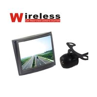 """Wholesale Car Backup Camera Monitor System - 3.5"""" Monitor + 120 Degree Backup Camera Car Dvr Wireless Security Parking Rear View System"""