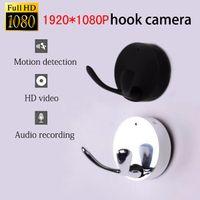 Wholesale Memory Flash Full - New full HD 1920*1080P hd camera DVR mini dv cam motion detection AT009 hook cam Sound recording mini cam motion detection Silver black