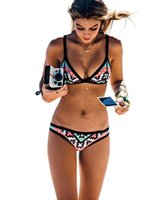 Wholesale Mini Swimsuits For Women - bathing suit 2016 swimwear woman New Fashion bikini sexy mini bikini one piece women swimsuits High waist bikinis for women victoria secrets