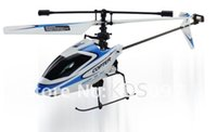 Wholesale Helicopter Radio Single - Wholesale-New Version WLtoys V911 2.4Ghz 4CH RC Helicopter Radio Control RTF single propeller LCD Display Gyro with Freeshipipng girl gift