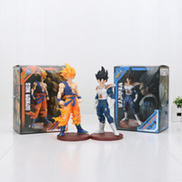 20 cm Dragon Ball Kai Super Saiyan fils goku Vegeta sauvage style PVC Action Figure Jouet Dragon Ball z figure