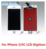 Wholesale Replace Lcd Screen - Wholesale A+++ Grade DHL Free For iphone 5 5G 5C 5S LCD Display Touch Screen Digitizer Assembly Replace Repair with Professional LCD Package