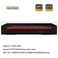 Wholesale Stand 4ch - 4CH Stand-alone HD 1080P 720P 960H Hybrid DVR NVR HDTVI AHD IP Analog input