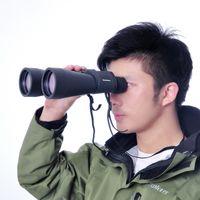 Wholesale Night Vision Binoculars Wide Angle - Wholesale-High quality binocular high 10-90x80 concert in HD super wide angle night vision binoculars free shipping