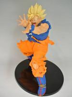 Wholesale Dragon Ball Z Pvc - Anime Dragon Ball Z Sun Goku Super Saiyan PVC Action Figure Collectible Model Toy 17CM