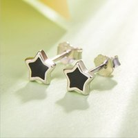 Wholesale Triangle Nail Stud - Heart Triangle Round Earring Stud Ear Nail Simple Silver Plated Design Huggie Earrings Accessories Set for Women Pierced Ears New Jewelry
