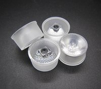 Waterproof Bead Led Lens 20.9MM 15 30 45 60 Graus Para Cree / Epileds 3535 3030 1W 3W 5W Led Chip Luz DIY 200pcs / lot