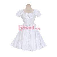 Wholesale Pretty Girl Costumes - Wholesale-Free shipping 3 Color Pretty Girl Lady Lolita Cosplay Dress beauty halloween costume for women CC-0394