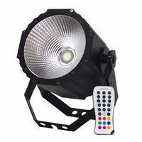 Wholesale Active Infrared - LED COB Par light LED Cannow Wash Light RGBW 80w DMX 8 Channels Infrared Remote Control