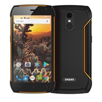 Wholesale Video Camera Big - UHANS K5000 IP68 Waterproof Rugged 4G Smartphone 5 Inch Android 7.0 Octa Core 3GB RAM 32GB ROM 5000mAh Big Battery Fingerprint
