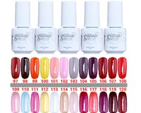 Wholesale Nail Gel Brands - Free Shipping 5ml 100% Brand New Nexu Gelish Soak Off UV Nail Gel Polish Total 168 Fashion Colors