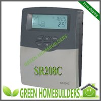 Wholesale Solar Water Heater Controller System - Free Shipping , SR208C Solar Water Heater Temperature Difference Controller for split solar water heating system