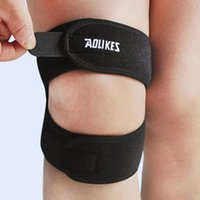 Atacado - 1Pcs Black Elbow Support Wrap Brace Gym Sports Lesão Dor Tennis Knee Care Portable