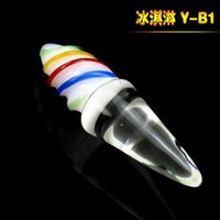 Wholesale Anal Sex Cream - 2015 New Style Ice cream massage rod anal plug,gays sex toys,anal dildo,butt plug,Erotic toys products for female,sexo, sex shop