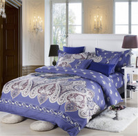 Wholesale Cheap European Beds - New arrivel cheap 100% cotton duvet cover 3D painting bedding set for full queen size bed free shipping
