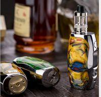 Wholesale Wholesale High End Electronic Cigarettes - E-cigarette Kits With Battery Capacity 18650-26650mah Steam Electronic Cigarette The High-end Electronic Cigarette Smoking Box Five Color