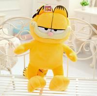 "Wholesale Garfield Cat Stuffed Animals - 1pcs 14""35cm Plush Garfield Cat Plush Stuffed Toy High Quality Soft Plush Figure Doll kawaii toys for your friends"