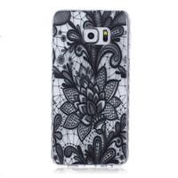 karikatürler grand prime için kapakları toptan satış-Beyaz Paisley Kına Çiçek Yumuşak TPU Jel Kılıfları Samsung Galaxy S5 S6 Kenar Artı J1 ACE J2 J3 Grand Başbakan G530 Çekirdek G360 G850F Karikatür kapak