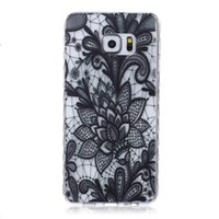 Wholesale Cartoon Casing Galaxy Grand - White Paisley Henna Flower Soft TPU Gel Cases For Samsung Galaxy S5 S6 Edge Plus J1 ACE J2 J3 Grand Prime G530 Core G360 G850F Cartoon cover