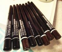 revestimientos de gel de marca al por mayor-VENTA CALIENTE 12 Unids / lote Pro Marca Maquillaje Rotary Retráctil Gel Negro Delineador de ojos Belleza Lápiz Delineador de Ojos Productos Del Sexo, Envío de La Gota Gratis