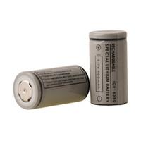 Wholesale V5 Free Dhl - 18350 battery 900mah Lithium li-on batteries 3.7V Rechargeable Battery for K100 Electronic Cigarette VAMO V5 Mod free dhl (0204073) 3