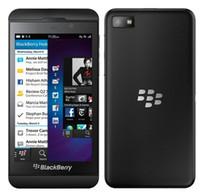 telefones celulares com tela de toque desbloqueada venda por atacado-Original Blackberry Z10 Desbloqueado celular Dual Core GPS Wi-Fi Câmera 8.0MP 4.2