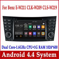 Wholesale Building Class - Android 4.4 Car DVD GPS Navigation for Mercedes Benz E Class W211 E200 E220 E240 E270 E280 with Radio BT USB WiFi