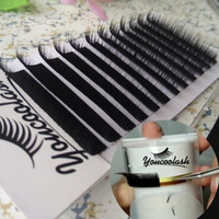 Wholesale Made Camellias - New Store 50%+ off Youcoolash 3D-6D 0.07 Volume Eyelash Extensions Mixed Length in One Lash Stri ,Camellia Eyelash Pandora Eyelashes