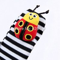 Wholesale Pair Lamaze - Wholesale-2015 free shipping Lamaze Garden A pair of children's bell cartoon socks