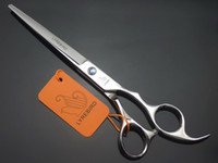 LYREBIRD 7 INCH hair cutting scissors Silvery scissors salon Hairdressing shears blue stone Simple packing NEW