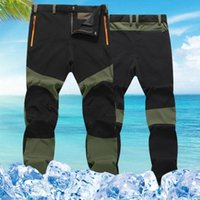Wholesale tactical casual clothing - Wholesale- Men's Clothing Casual Waterproof Windproof Regular Straight Midweight Trousers Tactical Cargo Pants