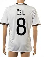 Wholesale Wholesale Quality Shirts - Thai Quality Customized 2015-16 New season men German European Cup 8 OZIL Home Jerseys Shirts,Discount Cheap top 5 HUMMELS T-shirt Soccer