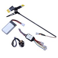 Wholesale Walkera Rc Helicopter Batteries - Wholesale rc helicopter parts Walkera GCP Mini Super CP Upgrade Brushless Kit With Battery
