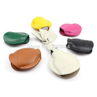 Wholesale Leather Key Fob Covers - Car Key fob cover for MINI COOPER COUNTRYMAN COUPE CLUBMAN CABRIO High quality car accessories muticolor genuine Leather key wallet