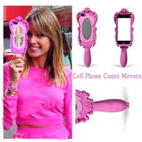 Wholesale Cheap Silicone Doll - 2015 Beautiful Doll Soft Silicone Magic Cosmetic Mirror Cute Makeup Mirrors for Girls Ladies Cheap and High Quality Phone Case Phone Cover