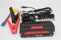 carregador usb para bateria do laptop venda por atacado-New Super Função Car Saltar de Arranque 4 USB Auto AMPS 68800 Mah Início de Emergência Power Car Carregador de bateria de laptop móvel