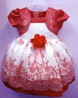 Wholesale girl dress New Korean girls dress Flowral Lace dress Colors Princess dress tutu skirt baby dresses