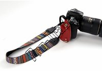 Vintage Style Canvas Camera Shoulder Neck Strap Belt para Nikon Canon Sony DSLR Camera 00733
