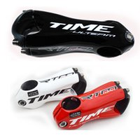 Wholesale Moutain Bikes - TIME Bicycle stem carbon fiber stems mtb cycling road bike parts 31.8mm*90 110mm riser moutain handlebar stem angle 10 red white black