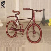 Motorcycle & Bicycle special souvenirs - Toys for children DIY bike model Special tourism souvenir copper wire by hand bicycle enameled wire bike model furnishing articles