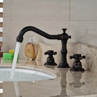 Wholesale Undercounter Mount Sink - Undercounter Basin Sink Mixer Faucet Good Quality High-end Oil Rubbed Bronze Deck Mounted Taps