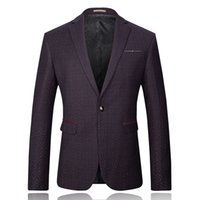 Wholesale Pointed Blazer - Wholesale-2016 new arrival Wave point of men's casual blazers Evening dress free shipping plus-size M-3XL