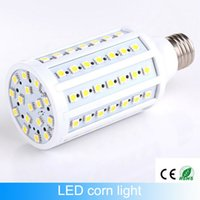 Wholesale E27 17w - Free shiping e27 led corn Lamp bulbs 17W led chips 86leds e14 light bulb Smd5050 110v 220v-240v360 Angle warranty 2 year