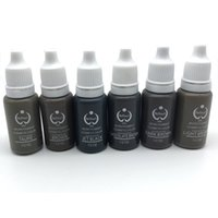 Wholesale Micro Pigment Cosmetic - Permanent Makeup Ink & Bio-Touch Micro Pigment Cosmetic 15ml Bottle for Tattoo Kits Supply Ink