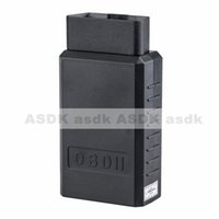 Wholesale Measuring Can - Wholesale-HOT!! v1.5 OBD2 ELM327 U1 Bluetooth Fuel consumption can be measured car diagnostic tester (Free Shipping)