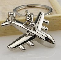Wholesale Planes Aircraft Carrier - Airplane model Modern Combat Fighter Aircraft Carrier Plane keyring
